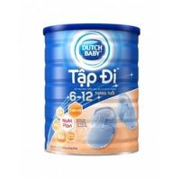 Sữa bột Dutch Lady Cô gái Hà Lan tập đi - hộp 900g (6 - 12 tháng)