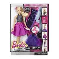 Búp bê Barbie - Bộ sưu tập thời trang sáng tạo váy tím