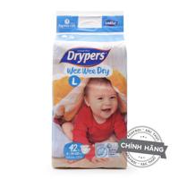 Tã dán Drypers Wee Wee Dry L42