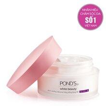 Kem dưỡng trắng da trắng hồng rạng rỡ ban đêm Pond's White Beauty Night 50g