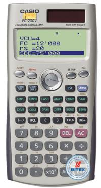 Máy tính tài chính Casio FC-200V