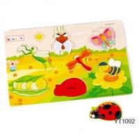 Bảng ghép hình côn trùng Benho YT1092