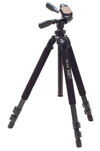 Chân máy ảnh Tripod Slik Pro 500 DX – 1645mm / Panhead Able 300DX Head