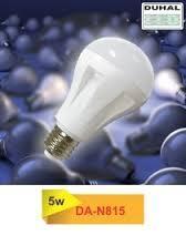 Bóng đèn LED Duhal DA-N815 5W đui xoáy E27 (Ánh sáng trắng)