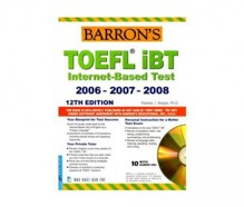 Barron's Toefl IBT Internet Based Test 12th (Sách+10CD)