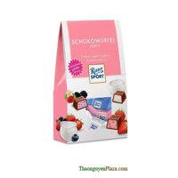 Kẹo Sô cô la Ritter sport 120g hồng gói
