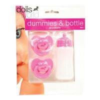 Bộ bình sữa và núm ti Dolls World DW8511