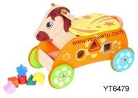 Xe đẩy cho bé tập đi Pony thả hình YT6479