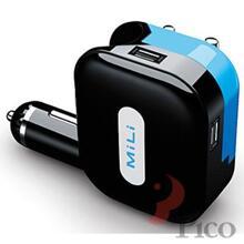Sạc AC hoặc trên xe hơi cổng USB MiLi Universal Charger