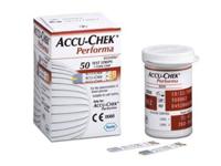 Que thử đường huyết Roche Accu-Chek Performa 50
