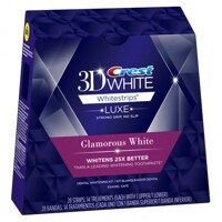 Miếng dán trắng răng Crest 3D White Glamorous White