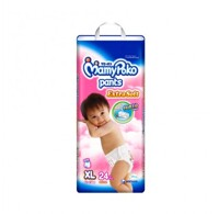Tã quần MamyPoko Girls size XL 24 miếng (trẻ từ 12 - 17kg)