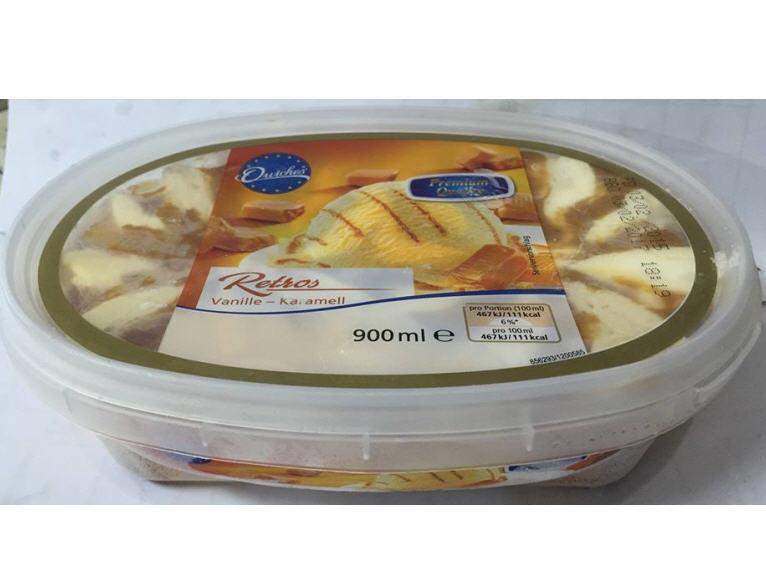 Kem Quiches Retros vị Vani Caramen – hộp 900ml