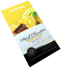 Thanh Socola Dark Chocolate with Lemon 58% - 100g