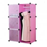 Tủ quần áo đa năng 6 ngăn Tupper Cabinet TC-6C3D-P
