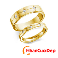Nhẫn cưới đẹp NC 923