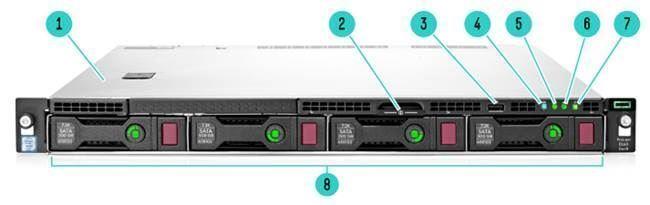 HP ProLiant DL60 E5 2620v3