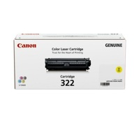 Mực in laser Canon 322BK - Dùng cho máy in Canon LBP 9100CDN, LBP 9500C, LBP 9600C