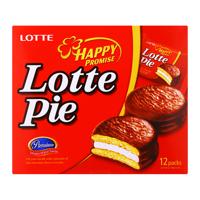 Bánh xốp Lotte Pie hộp 360g (12 bánh)