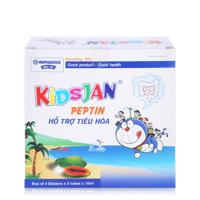 Nước uống hỗ trợ tiêu hóa Peptin Kidsjan 20 ống