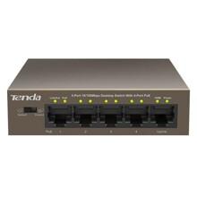 Bộ chia mạng Tenda 5 cổng PoE TEF1105P