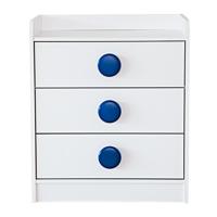 Tủ 3 ngăn Modulo Home TIAGO 8337-W