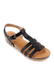 Giày xăng-đan nữ đế xuồng Mirabella SDX523 - cao 4cm