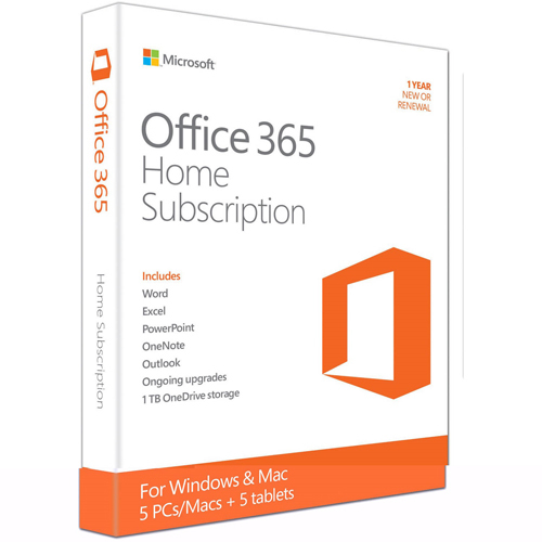 Phần mềm Microsoft Office 365 Home English APAC 6GQ-00757
