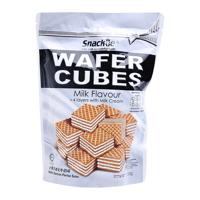 Bánh xốp sữa Wafer Cubes Snackie gói 200g