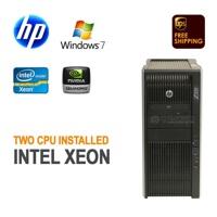 Máy tính để bàn Hp Workstation z820 -  RAM 32g , 8 lõi ,SSD 120gb , VGA Quadro 2000