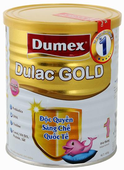Sữa bột Dumex Dulac Gold 1 - hộp 800g (dành cho trẻ từ 0 - 6 tháng) ...