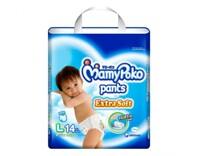 Tã quần MamyPoko Boys size L 14 miếng (trẻ từ 9 - 14kg)