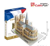 Bộ xếp hình 3D nhà thờ Đức Bà Paris Cubic Fun MC054H