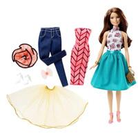 Búp bê Barbie bộ sưu tập tạo mẫu thời trang DJW57