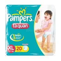 Tã quần Pampers XL18