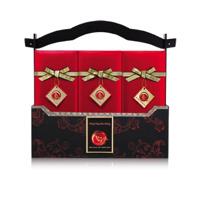Hộp bánh trung thu Kinh đô Trăng vàng Kim Cương 10 bánh + 1 trà ô long
