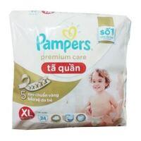 Tã-bỉm quần Pampers Premium Care XL24
