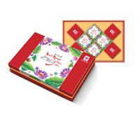 Hộp bánh trung thu Hải Hà Minh Nguyệt Đoàn Viên (hộp đỏ) 8 bánh
