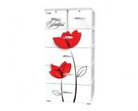 Tủ nhựa Đại Đồng Tiến Nice T1220 - Hoa Tulip