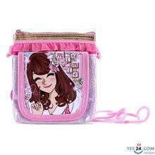 Túi đeo chéo Minmie màu hồng - MM460-7GT-01