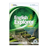 English Explorer 3 Workbook with Audio CDs