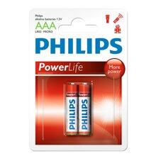 Bộ 5 vỉ pin kiềm AAA Philips LR03P2B