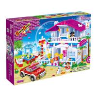 Bộ đồ chơi lắp ráp BanBao - Đám cưới 6103
