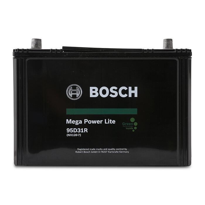 Ắc quy khô Bosch Mega Power Lite 95D31R/NX120-7 (80 Ah)