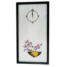 Tranh đồng hồ Dawon Deco Apricot Fllower