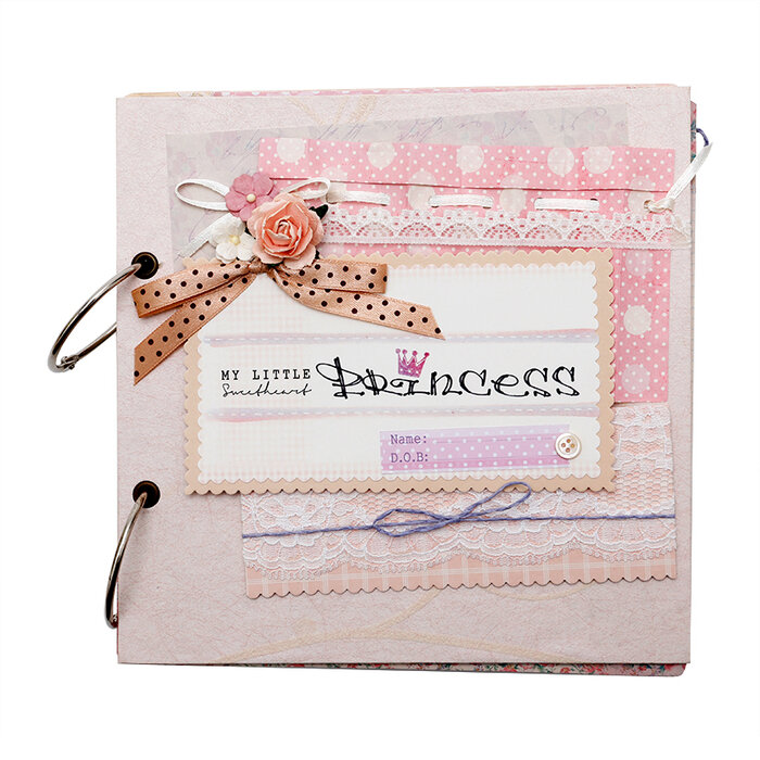 Album handmade Scrapbook My little princess