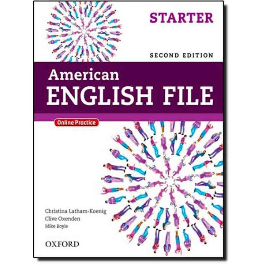 American English File Starter - Student's Book with Oxford Online Skills Program