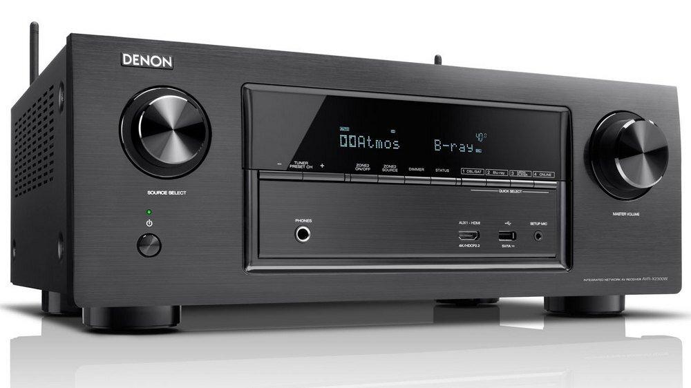 Amply Denon AVR-X2300W