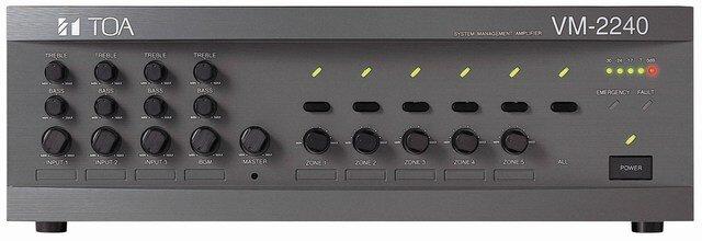 Amply Tăng âm truyền thanh TOA 240W VM-2240