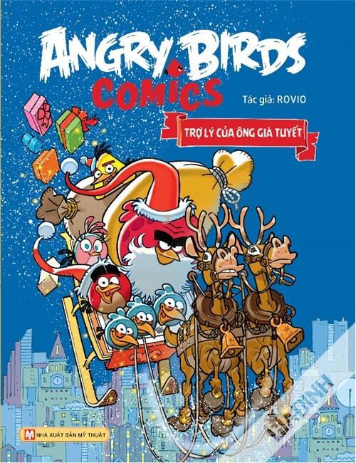Angry Birds Comics – Trợ lý của ông Già Tuyết